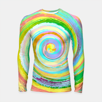Thumbnail image of Spiral and colors Longsleeve rashguard , Live Heroes