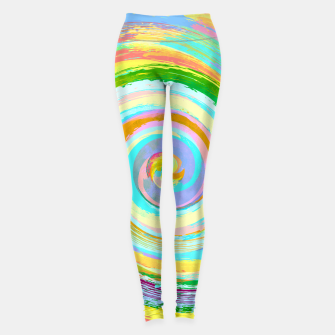 Spiral and colors Leggings Bild der Miniatur