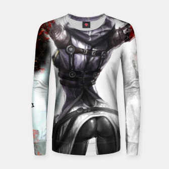 Thumbnail image of коллаж Women sweater, Live Heroes