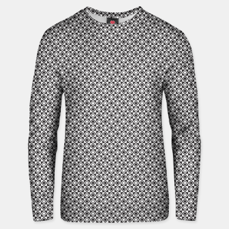 Checkered Shapes Pattern I Unisex sweater obraz miniatury