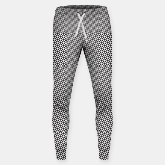 Checkered Shapes Pattern I Sweatpants obraz miniatury