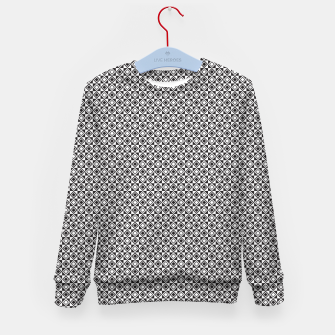 Checkered Shapes Pattern I Kid's sweater obraz miniatury