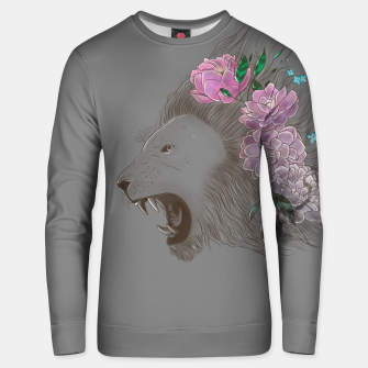 Thumbnail image of Floral Lion Unisex sweater, Live Heroes