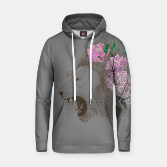 Thumbnail image of Floral Lion Hoodie, Live Heroes
