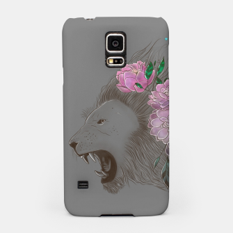 Thumbnail image of Floral Lion Samsung Case, Live Heroes
