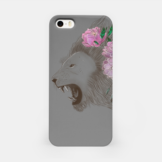 Thumbnail image of Floral Lion iPhone Case, Live Heroes