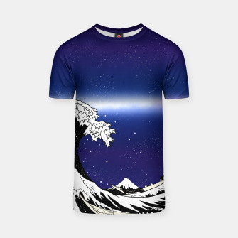 Thumbnail image of The Great Wave T-shirt, Live Heroes