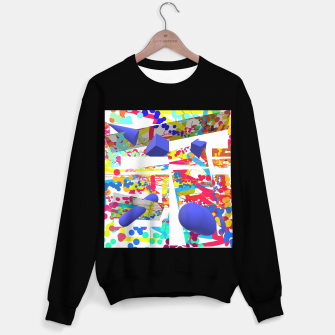 Thumbnail image of Coloursplash 3D Painting Sweatshirt regulär, Live Heroes