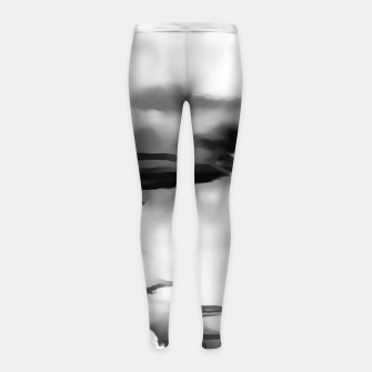 Thumbnail image of cloudy burning sky reacbwi Girl's leggings, Live Heroes
