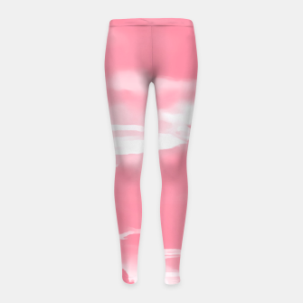 Thumbnail image of cloudy burning sky reacpw Girl's leggings, Live Heroes