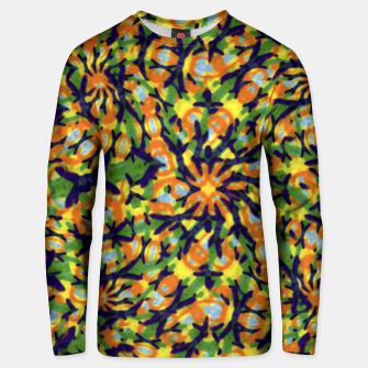 Thumbnail image of Multicolored Camo Print Pattern Unisex sweater, Live Heroes