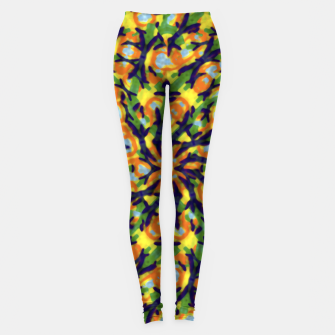 Thumbnail image of Multicolored Camo Print Pattern Leggings, Live Heroes