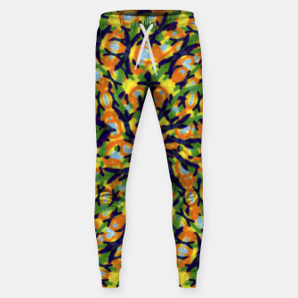 Thumbnail image of Multicolored Camo Print Pattern Sweatpants, Live Heroes