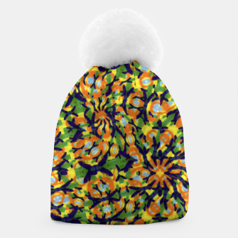 Thumbnail image of Multicolored Camo Print Pattern Beanie, Live Heroes