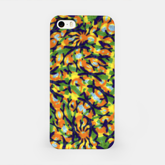 Thumbnail image of Multicolored Camo Print Pattern iPhone Case, Live Heroes