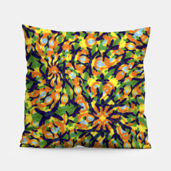 Thumbnail image of Multicolored Camo Print Pattern Pillow, Live Heroes