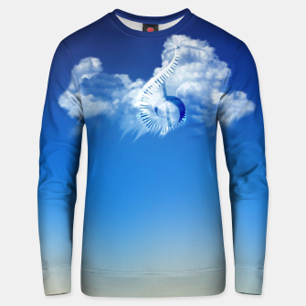 Miniatur Cloud of Song Unisex sweater, Live Heroes