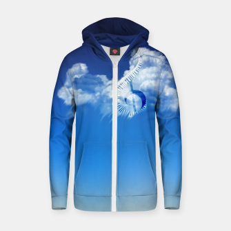 Miniatur Cloud of Song Zip up hoodie, Live Heroes