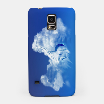 Miniatur Cloud of Song Samsung Case, Live Heroes