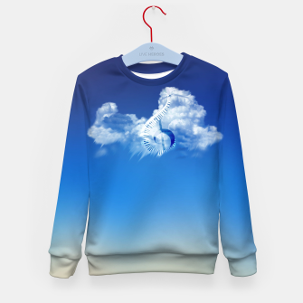 Miniatur Cloud of Song Kid's sweater, Live Heroes