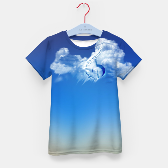 Miniatur Cloud of Song Kid's t-shirt, Live Heroes