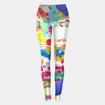 Thumbnail image of Coloursplash 3D Painting Leggings, Live Heroes