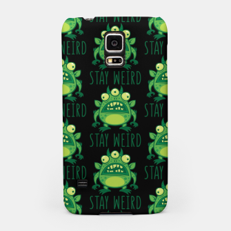 Thumbnail image of Stay Weird Alien Monster Samsung Case, Live Heroes