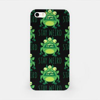 Thumbnail image of Stay Weird Alien Monster iPhone Case, Live Heroes