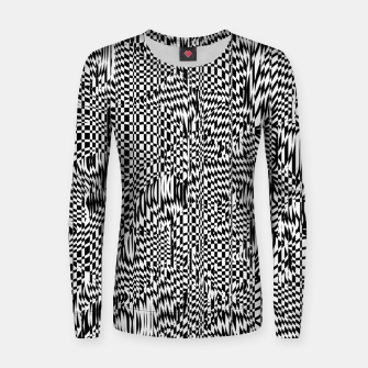 Thumbnail image of Lines 001 Women sweater, Live Heroes