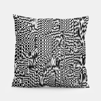 Thumbnail image of Lines 001 Pillow, Live Heroes