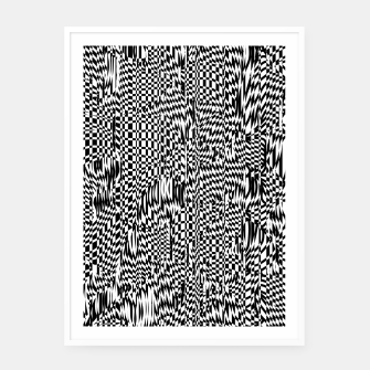 Thumbnail image of Lines 001 Framed poster, Live Heroes