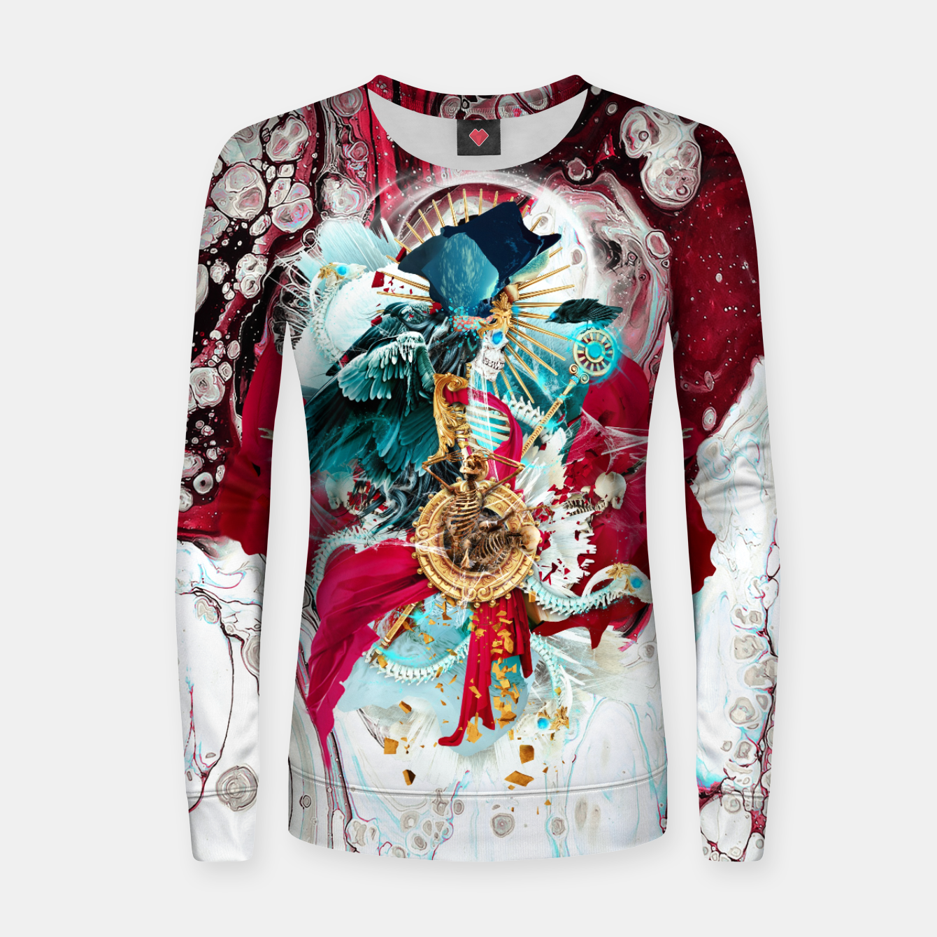 Image of Carpe Mortem Women sweater - Live Heroes