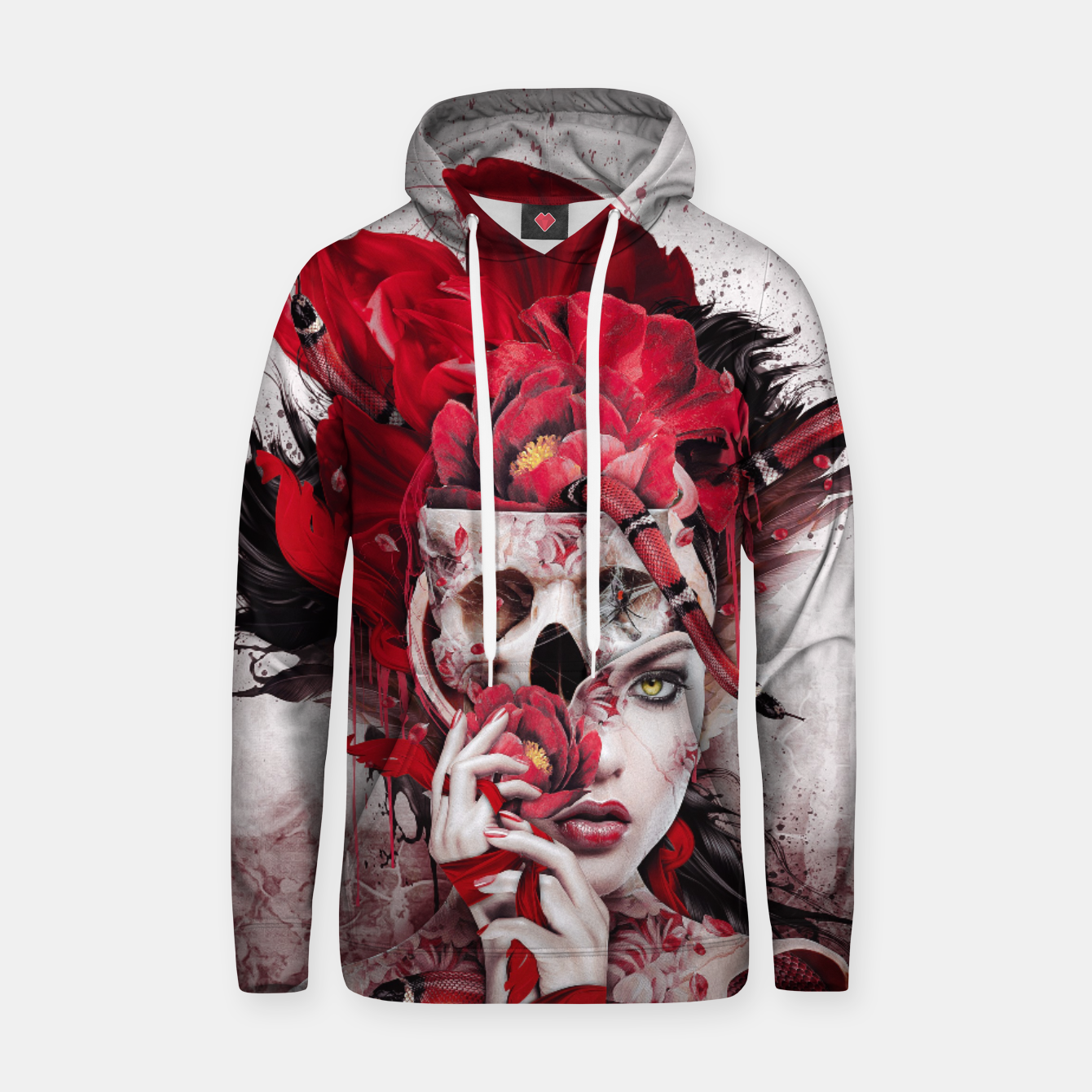 Image of Poisonous Flowers Hoodie - Live Heroes