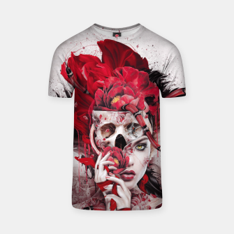 Thumbnail image of Poisonous Flowers T-shirt, Live Heroes