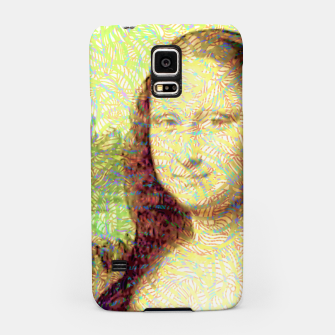 Thumbnail image of full colour mona lisa Samsung Case, Live Heroes