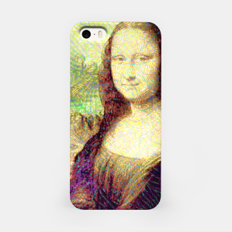 Thumbnail image of full colour mona lisa iPhone Case, Live Heroes