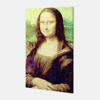 Thumbnail image of full colour mona lisa Canvas, Live Heroes