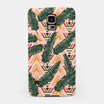 Thumbnail image of Banana Leaves Samsung Case, Live Heroes