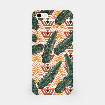 Thumbnail image of Banana Leaves iPhone Case, Live Heroes