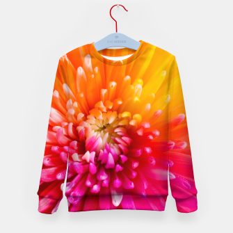 Thumbnail image of Chrysanthemum Kid's sweater, Live Heroes