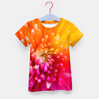 Thumbnail image of Chrysanthemum Kid's t-shirt, Live Heroes