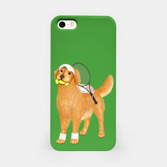 Thumbnail image of Ready for Tennis Practice iPhone Case, Live Heroes