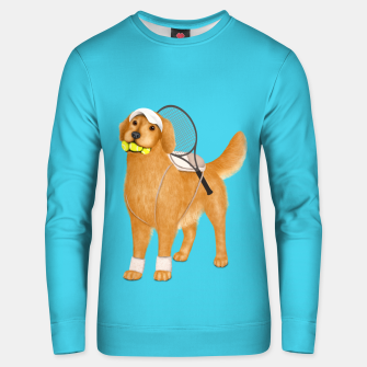 Thumbnail image of Ready for Tennis Practice Unisex sweater, Live Heroes