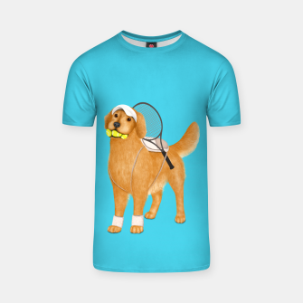 Thumbnail image of Ready for Tennis Practice T-shirt, Live Heroes