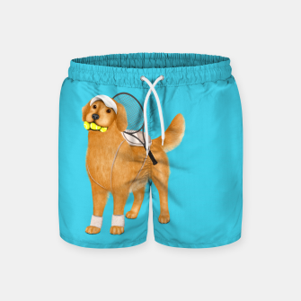 Thumbnail image of Ready for Tennis Practice Swim Shorts, Live Heroes