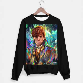 newt scamander Sweater regular obraz miniatury