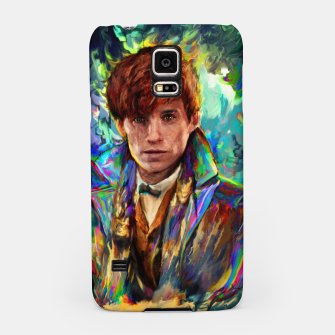 Thumbnail image of newt scamander Samsung Case, Live Heroes