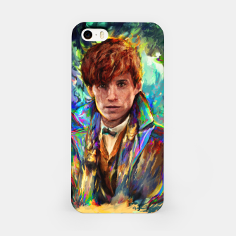 Thumbnail image of newt scamander iPhone Case, Live Heroes