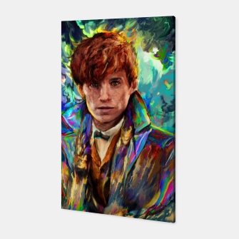 Thumbnail image of newt scamander Canvas, Live Heroes