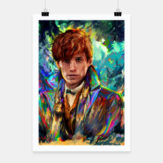 Thumbnail image of newt scamander Poster, Live Heroes